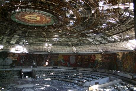 Ритуална зала общ изглед Бузлуджа