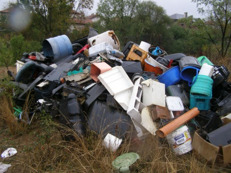 Пластмасови отпадъци